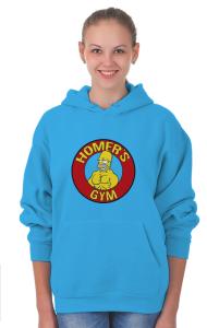 Худи Тренажерный зал Гомера   Homer's gym