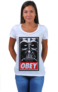 Футболка Дарт Вейдер ОБЕЙ   Darth Vader OBEY