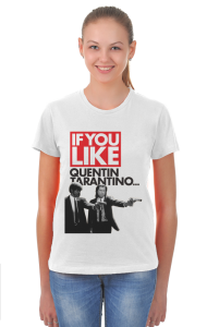 Футболка Криминальное чтиво Квентин Тарантино| Pulp Fiction Quentin Tarantino