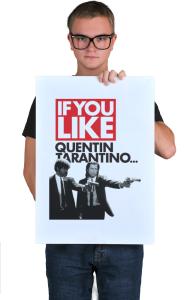 Постер Криминальное чтиво Квентин Тарантино| Pulp Fiction Quentin Tarantino