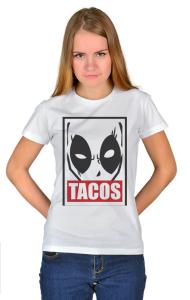 Футболка Дэдпул Такос  Deadpool Tacos