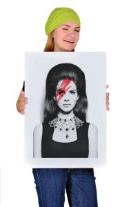 Постер Лана Дель Рей. Боуи | Lana Del Rey. Bowie