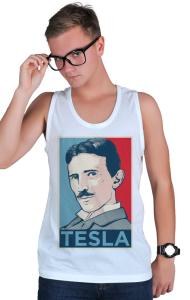 Футболка Тесла ОБЕЙ Tesla OBEY