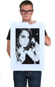 Постер Лана Дель Рей Вог| Lana Del Ray Vogue