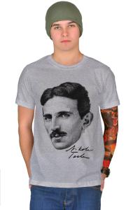 Футболка Никола Тесла Nikola Tesla