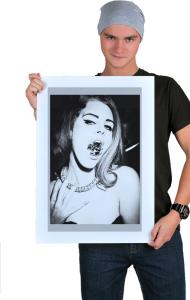 Постер Лана Дель Рей Бриллиант|T-shirt Lana Del Ray Diamond