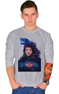 Свитшот Игра Престолов Джон Сноу |Game of Thrones Jon Snow