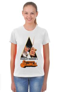 Футболка  Механический Апельсин   Clockwork Orange
