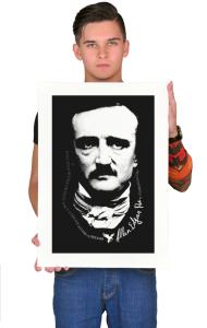 Постер Эдгар Аллан По   Edgar Allan Poe