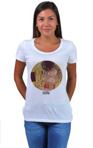 Футболка Климт Поцелуй   The Kiss Klimt