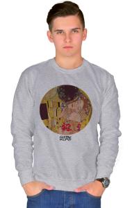 Свитшот Климт Поцелуй | The Kiss Klimt