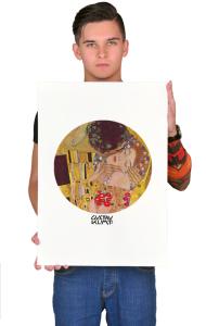 Постер Климт Поцелуй | The Kiss Klimt
