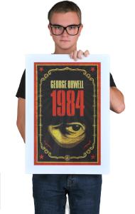 Постер Оруэлл 1984 | Orwell 1984