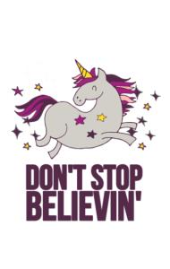 Постер Мечтательный Единорог  |  Dreamy Unicorn