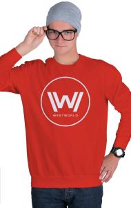 Свитшот Западный Мир   Westworld