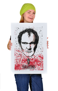 Постер Тарантино | Tarantino