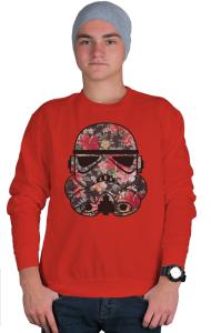 Свитшот Цветочный Штурмовик   Floral Stormtrooper