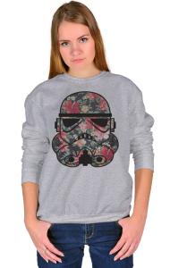 Свитшот Цветочный Штурмовик | Floral Stormtrooper