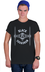 Футболка Черный Эскадрон   Black Squadron