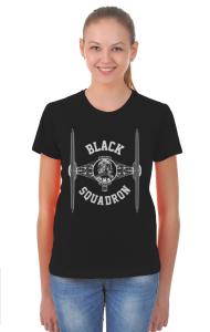 Футболка Черный Эскадрон | Black Squadron
