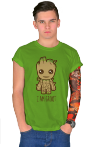 Футболка Я есть Грут | I'm Groot