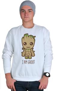 Свитшот Я есть Грут   I'm Groot
