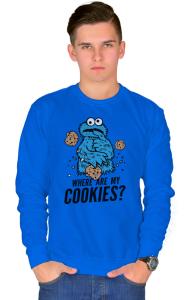 Свитшот Где моё печенье? | Where are my cookies?