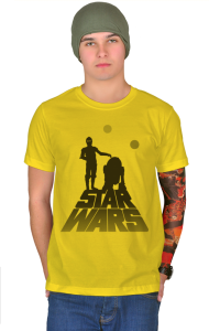 Футболка R2D2 и C3PO   R2D2 и C3PO