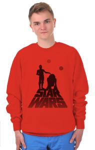 Свитшот R2D2 и C3PO   R2D2 и C3PO