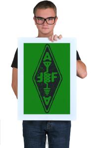 Постер Арккад Фаер Лого | Arcade Fire Logo