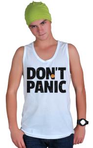 Футболка Не Паникуй   Don't Panic