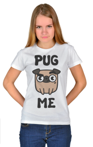 Футболка Мопс | Pug