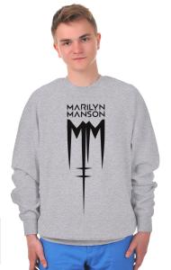 Свитшот Мэрилин Мэнсон Лого | Marilyn Manson Logo