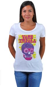 Футболка Тэйм Импала Череп   Tame Impala Skull