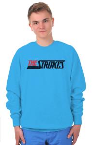 Свитшот Зе Строукс Лого    The Strokes Logo