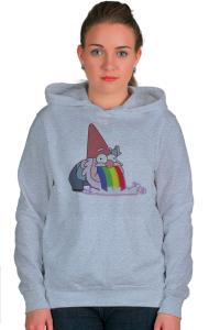 Худи Радужный Гном   Rainbow Gnom