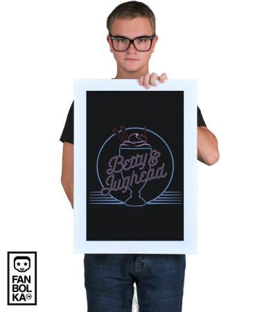 Постер Бетти и Джагхед | Betty and Jughead