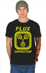 Футболка Конденсатор Потока   Flux Capacitor